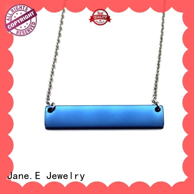 fragrant stainless steel chain necklace engraved manual polished manufacturer