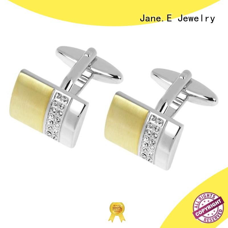 silver personalised cufflinks inlay supplier