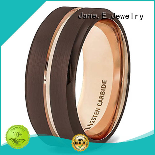 multi colors mens tungsten carbide wedding bands two tones matt for gift