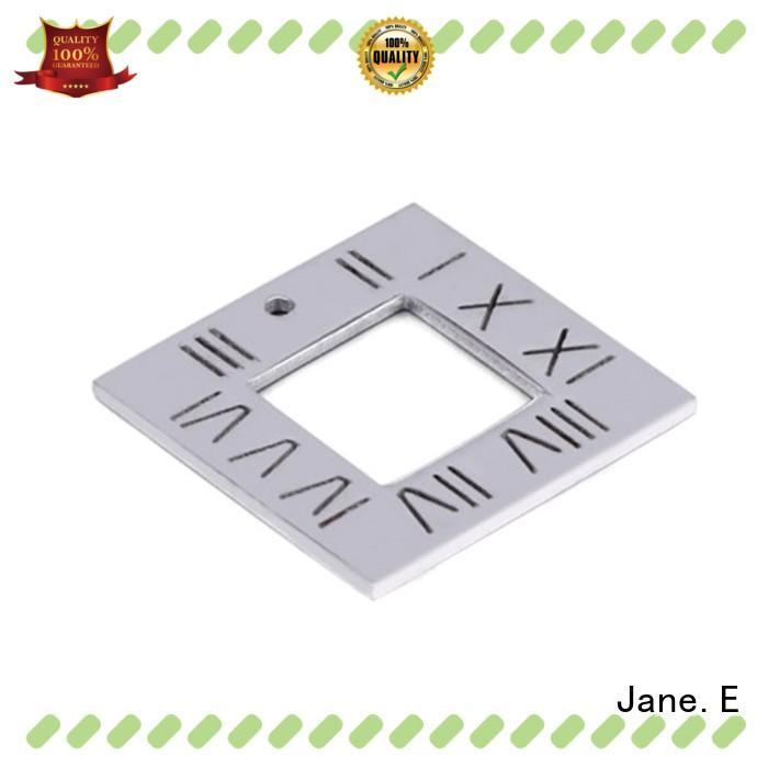 black plated custom made stainless steel pendants beautiful for men JaneE