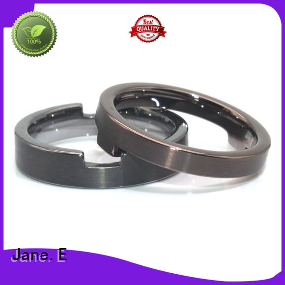 square edges stainless steel ring comfortable for decoration