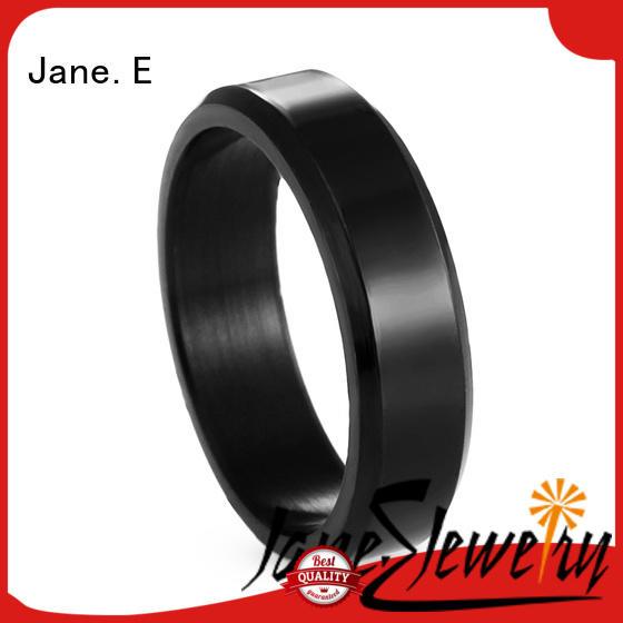Custom 316L Stainless Steel Plain Polished Wedding Ring for Men