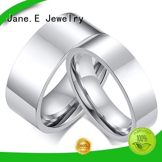 JaneE for wood crafts mens titanium wedding bands factory direct for anniversary