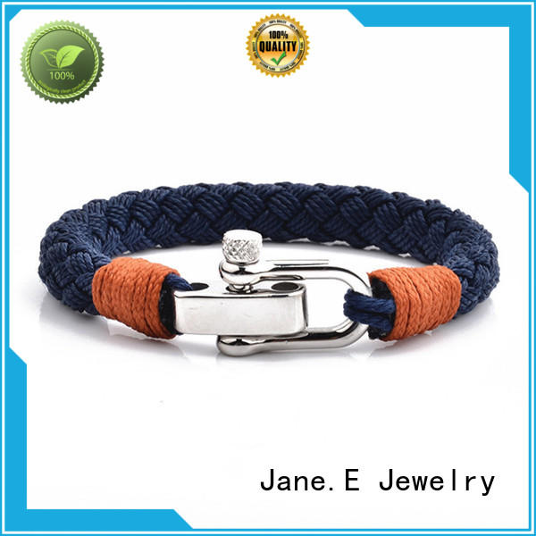 JaneE heart shape rope bracelet for women high quality for anniversary