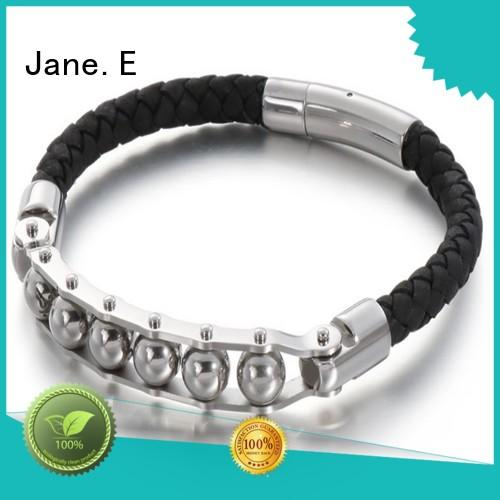 JaneE adjustable extender chain stainless steel bangle exquisite supplier