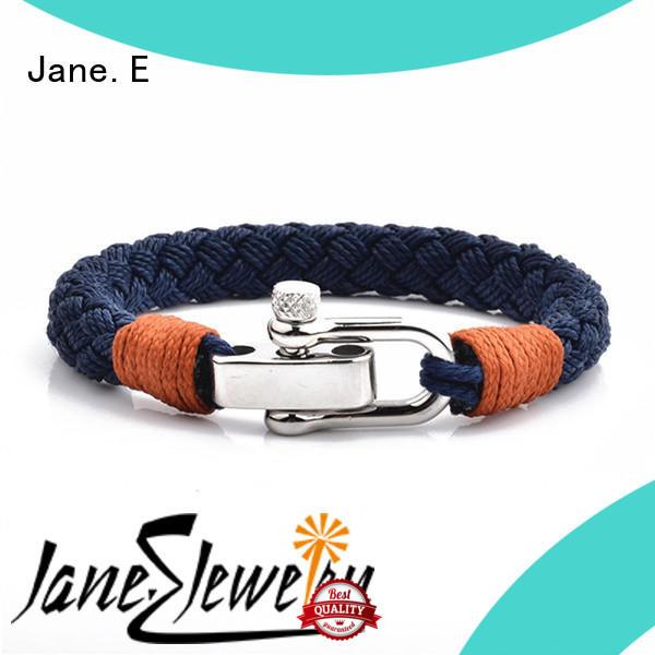 JaneE adjustable anchor rope bracelet high quality for women