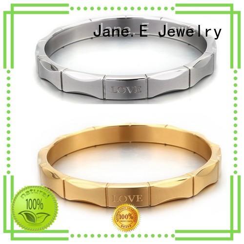 JaneE wood custom bracelets hot selling for engagement