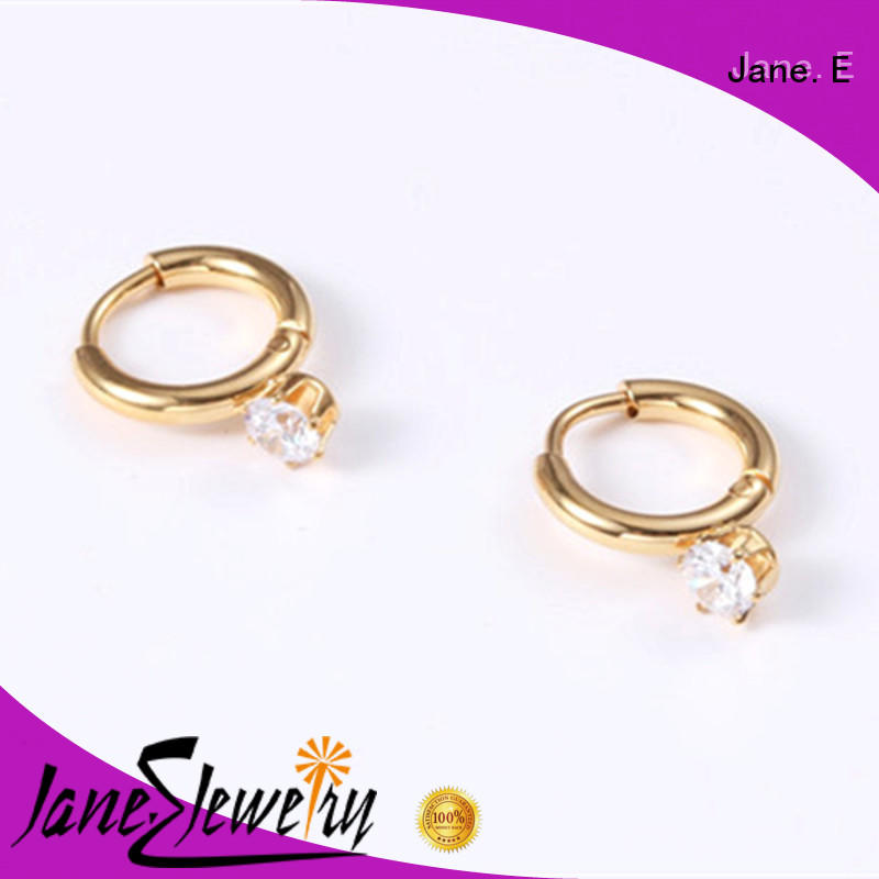 cuff hoop hypoallergenic small hoop earrings customized for decoration JaneE