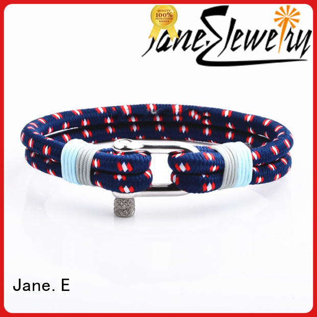 JaneE colorful personalized rope bracelets exquisite for anniversary