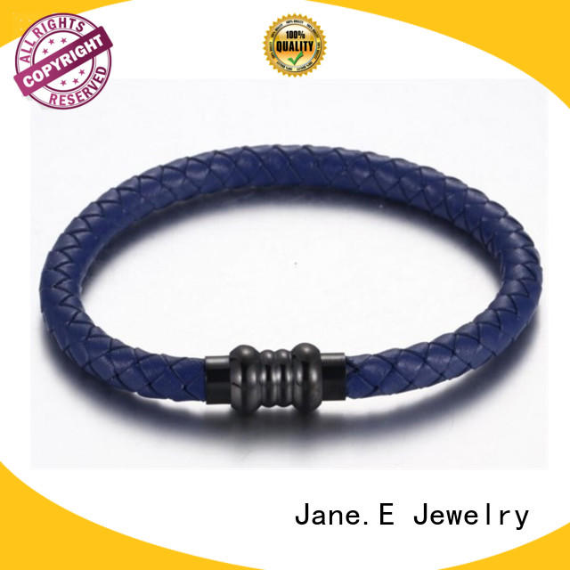 JaneE custom made stainless steel bangle bracelets hot selling manufacturer