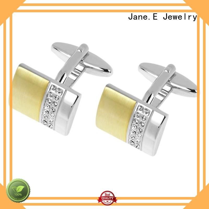 personalised cufflinks and studs inlay supplier