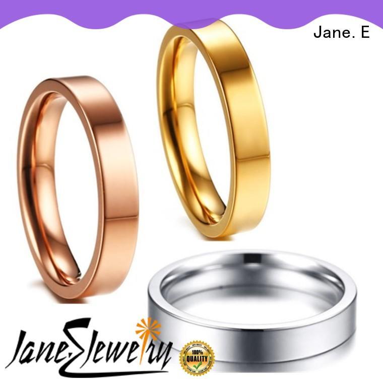 koa custom titanium ring wholesale for wedding JaneE