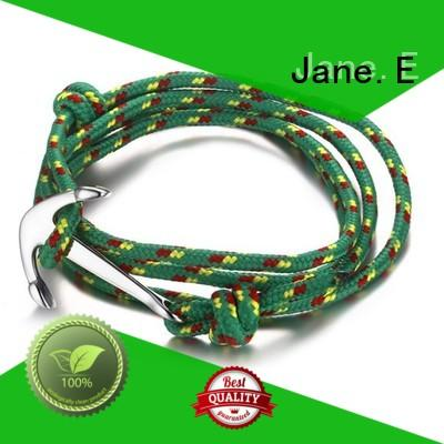 JaneE colorful double rope bracelet custom made for anniversary