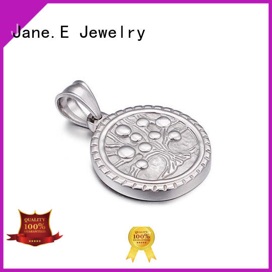 JaneE manual polishing stainless steel charms and pendants beautiful for men