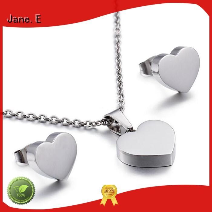 JaneE resin coating stainless steel pendant for men beautiful for men