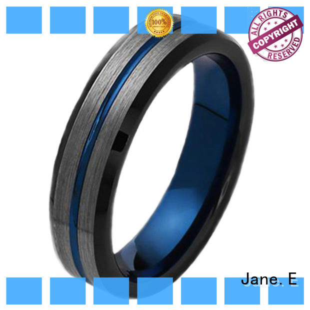 JaneE traditional tungsten engagement rings for her matt for engagement