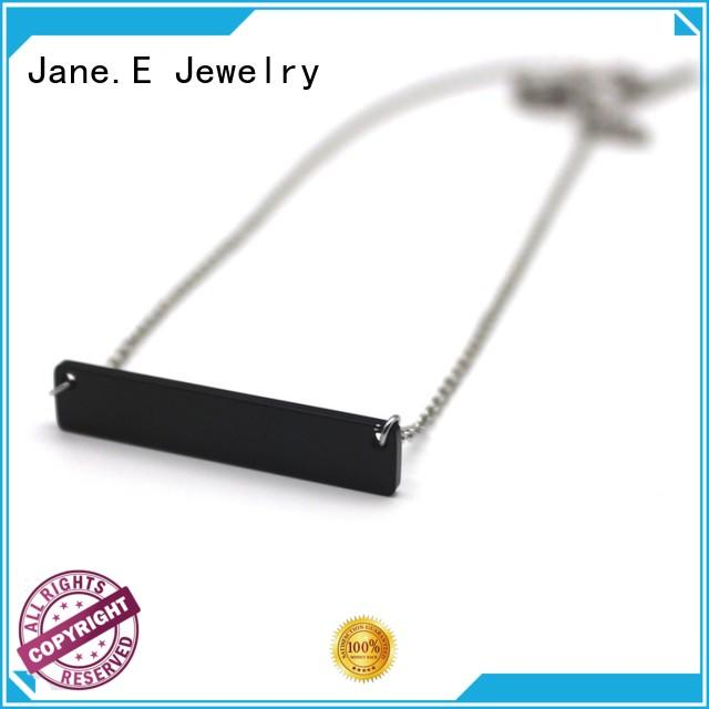aromatherapy stainless steel necklace different dimension for gift JaneE
