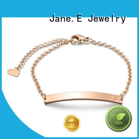 JaneE popular steel bracelet customized for gifts