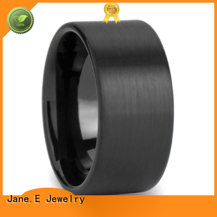 JaneE multi colors tungsten carbide wedding bands exquisite for gift