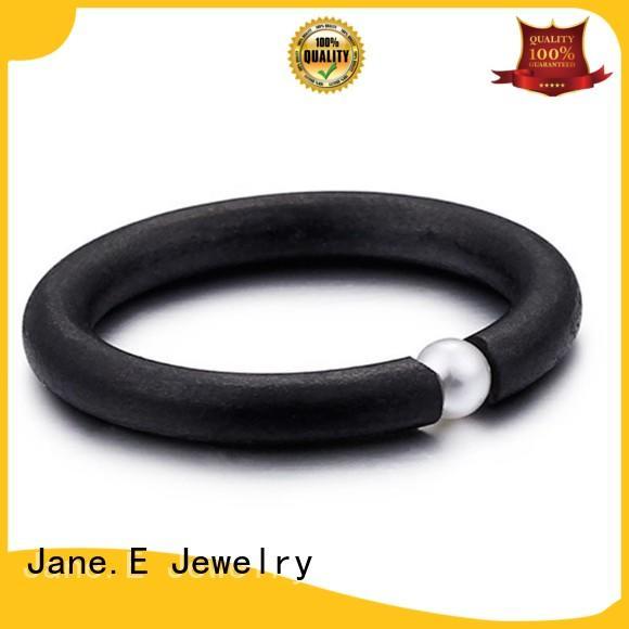factory direct black stainless steel mens ring gunmetal fashion design for men